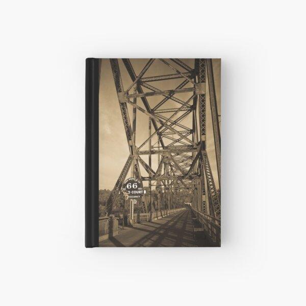 Chain of Rocks Bridge. (Alan Copson ©) Hardcover Journal