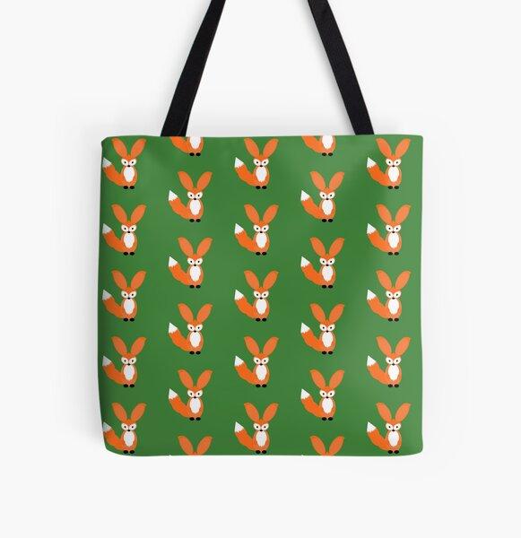 Cute fox All Over Print Tote Bag