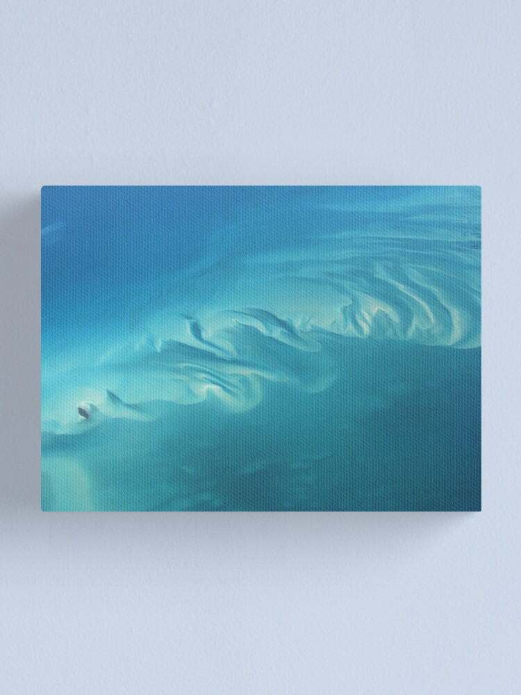 Alternate view of Dreaming in Turquoise Too Canvas Print