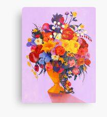 Série Fleur 2 Impression métallique