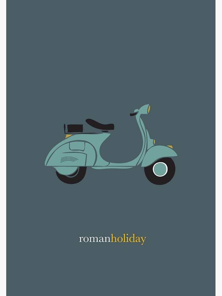 Roman Holiday - Alternative Movie Poster by MoviePosterBoy