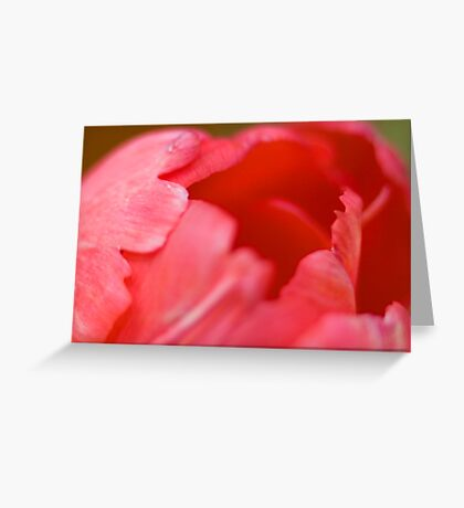 Soft Lips Greeting Card