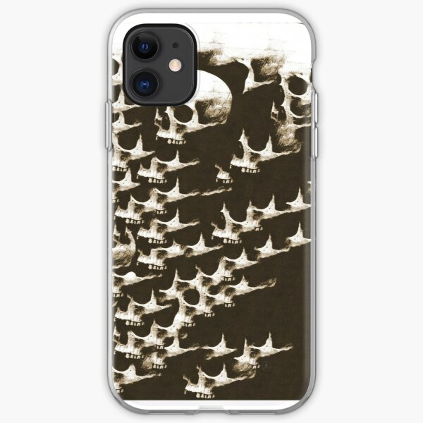 It's Skulls All the Way Down iPhone Soft Case
