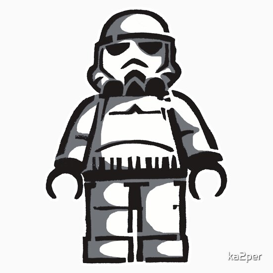 The gallery for --> Lego Star Wars Stencil