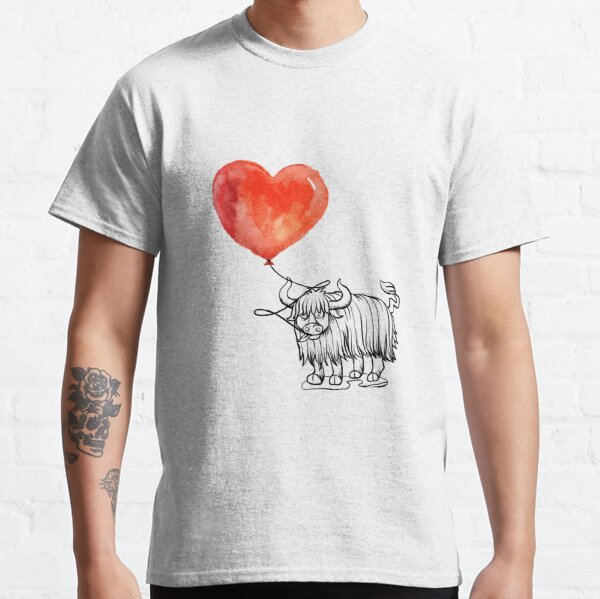 Yak Cool Tee Shirt Love Yak Tshirt