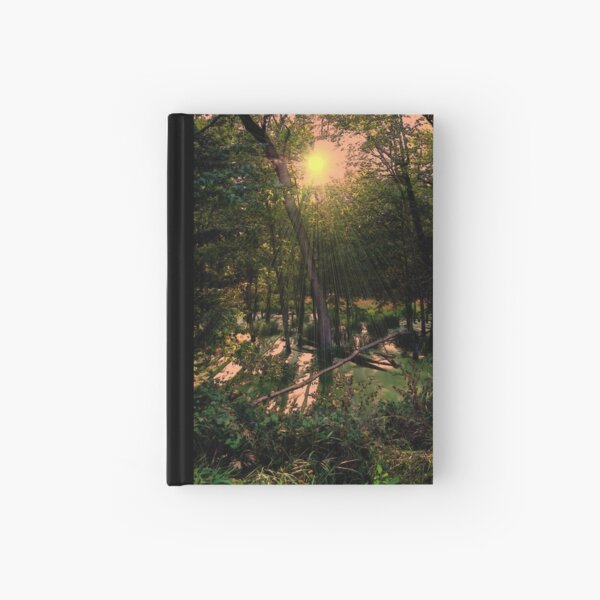 Wild Swamp Blush Hardcover Journal