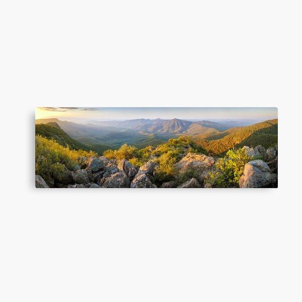 Mount Kaputar Summit, Narrabri, New South Wales, Australia Canvas Print