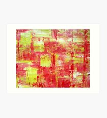 (  MOOD IN RED. ) Art Print