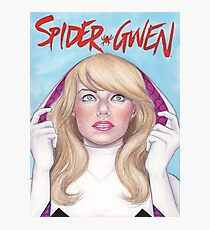 Spider-Gwen Photographic Print