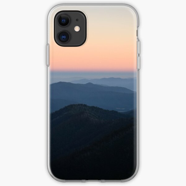 Morning Sky at Mount Hotham iPhone Soft Case