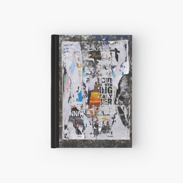 Found Collage Hardcover Journal