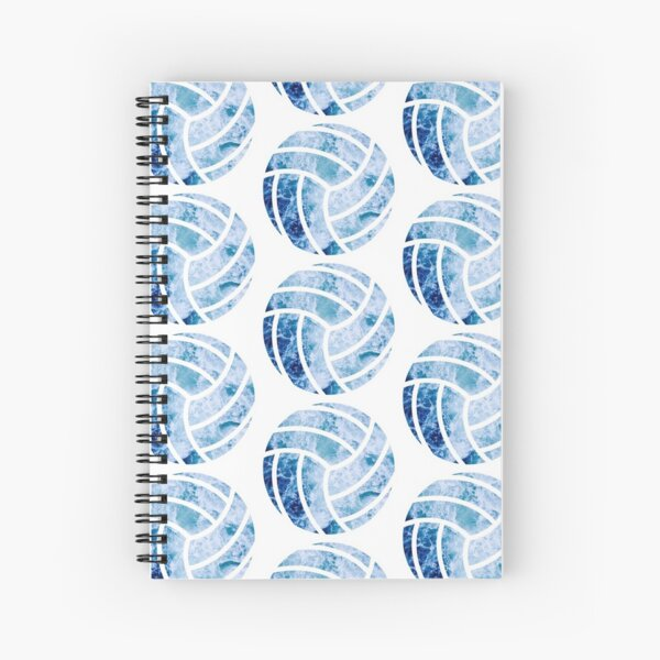 Volleyball Ocean Spiral Notebook