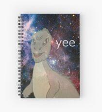 Cuaderno de espiral Yee cósmica