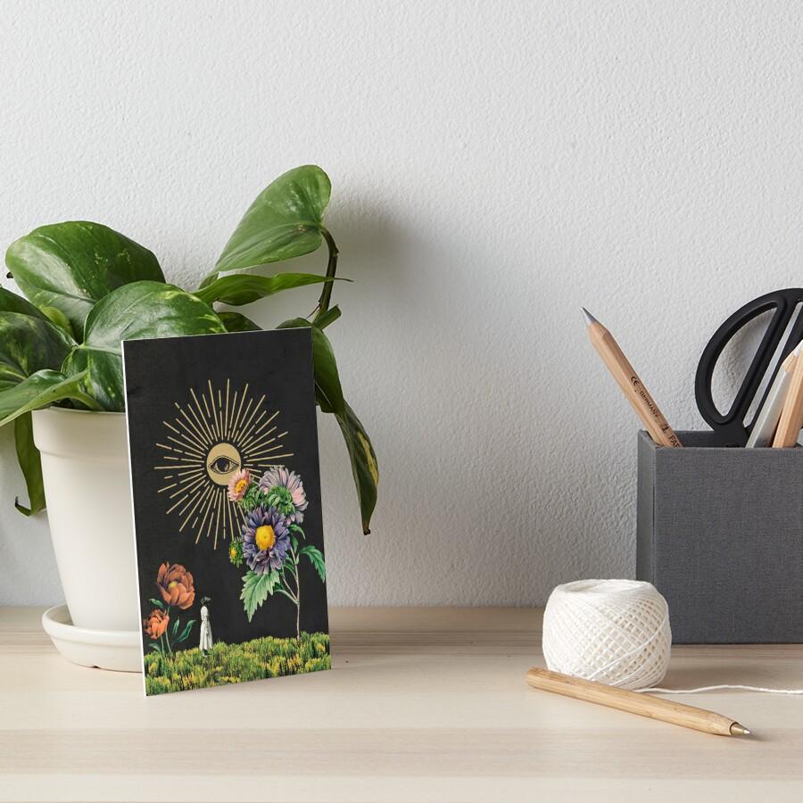 Solar Art Board Print