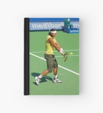 Backhand (Rafael Nadal) Hardcover Journal