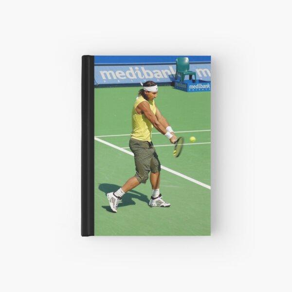 Backhand (Rafael Nadal) Hardcover Journal