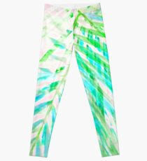 Palm Leaf Fantasia Leggings