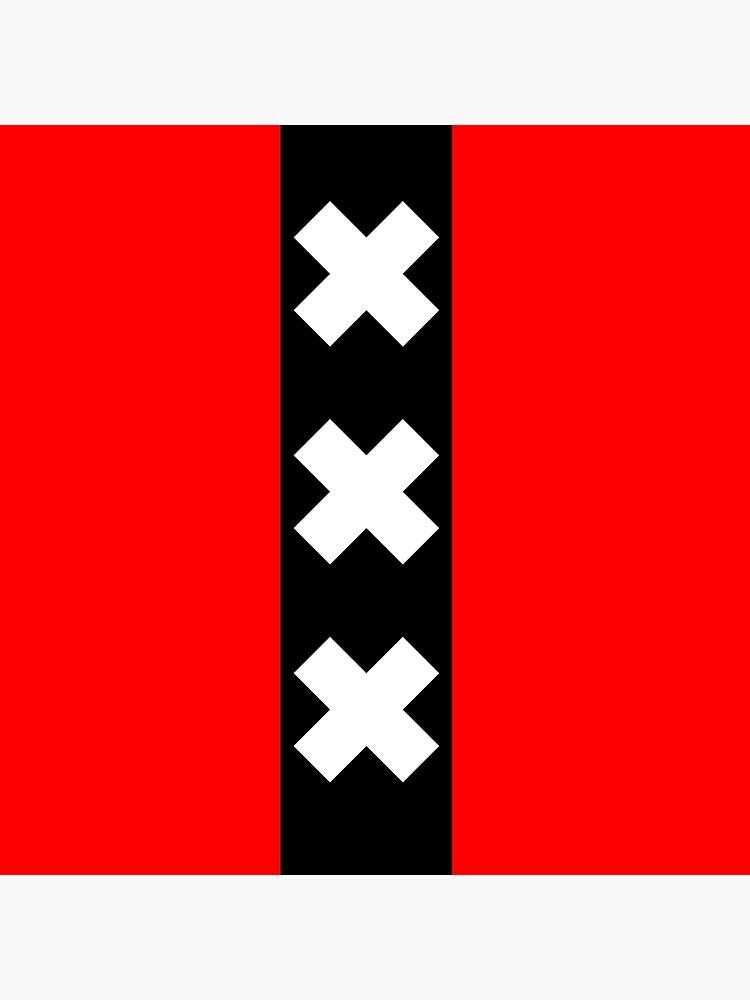Amsterdam Flag 3 X's by the27thFalkon