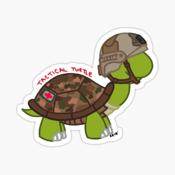 Tactical Turtle Sticker