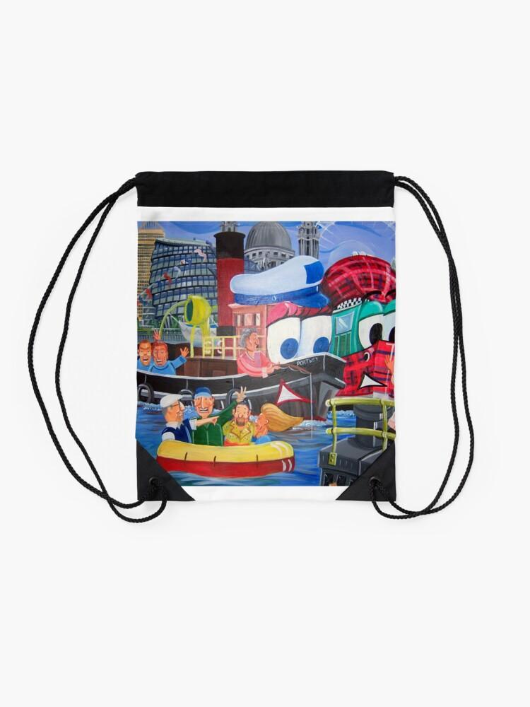 Alternate view of Tuffy and Portwey Drawstring Bag