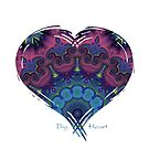 Big Beautiful Purple Heart by MagickMama