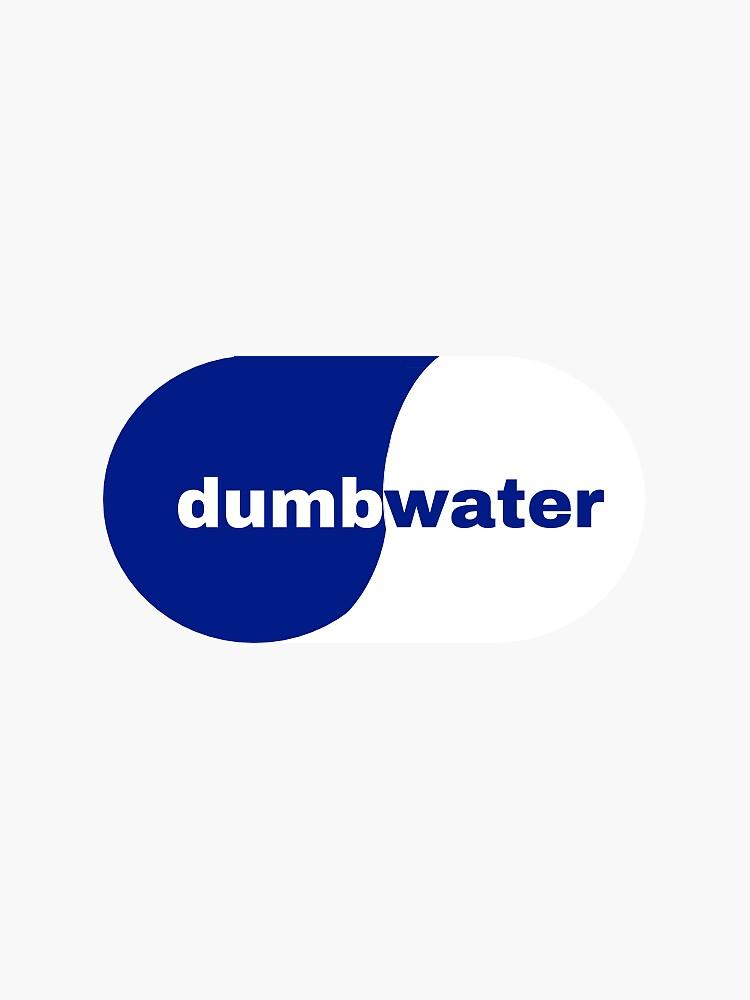 dumb water smart water logo by marysullivann