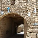 Symbols on the wall (27) - Amran town gate by Marjolein Katsma