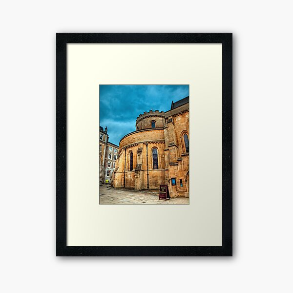 The Temple Church, London Framed Art Print
