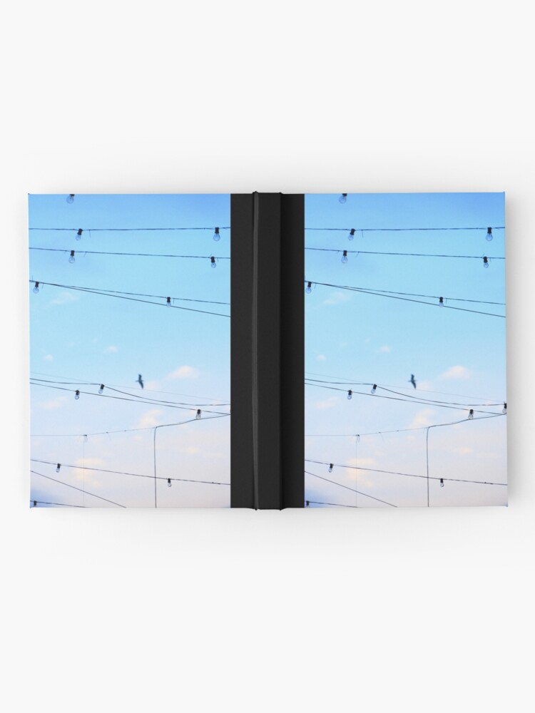Alternate view of Right then a  few ideas occured to me whilst daydreaming of flying home finding harmony Hardcover Journal