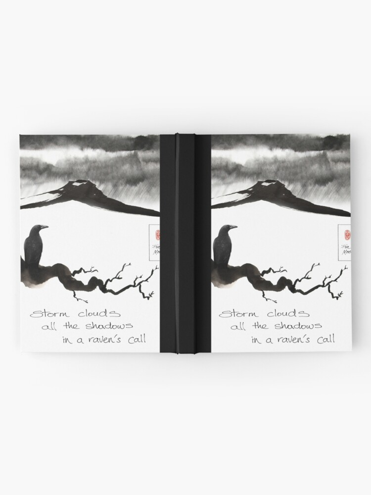 Alternate view of Storm Clouds Hardcover Journal