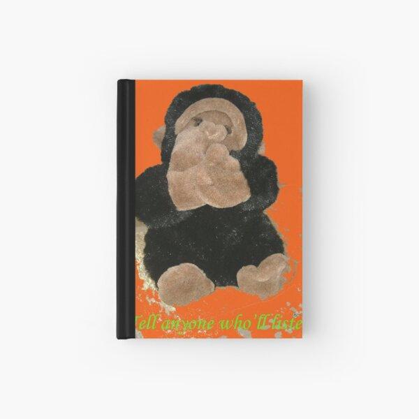 Four Funky  Monkeys 08 Hardcover Journal