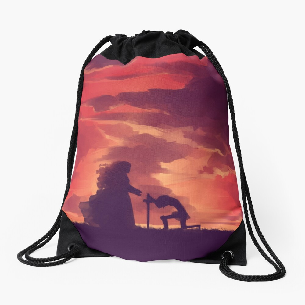 Through Your Eyes (Part 1) Drawstring Bag
