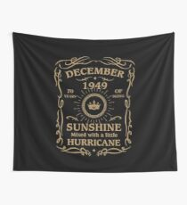 December 1949 Sunshine Mixed With A Little Hurricane Wall Tapestry