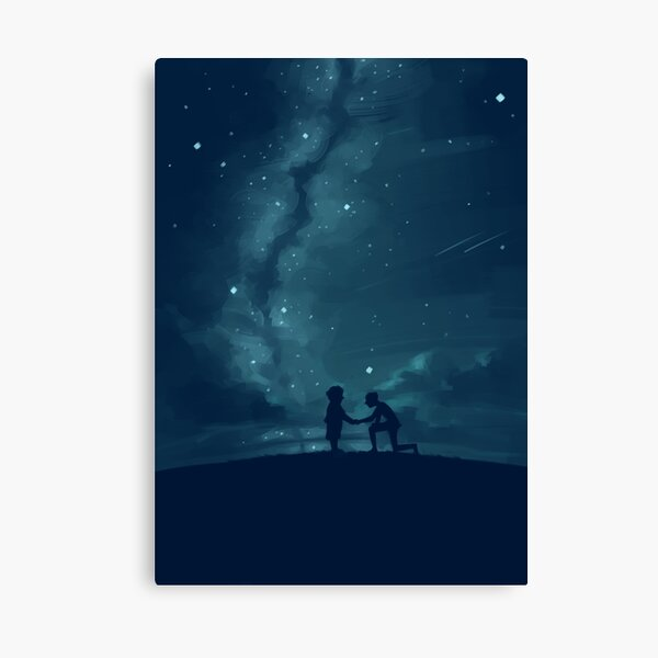 Through Your Eyes (Part 2) Canvas Print