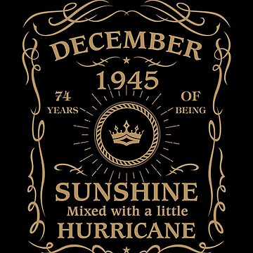 August 1945 Sunshine Mixed With A Little Hurricane by lavatarnt