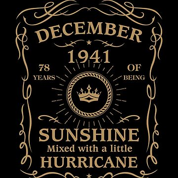 August 1941 Sunshine Mixed With A Little Hurricane by lavatarnt