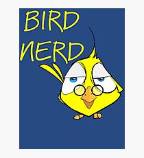 Bird Nerd Funny Ornithology T Shirt Photographic Print