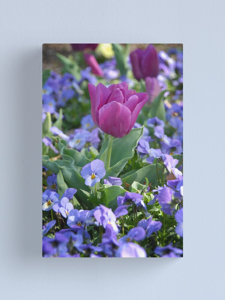 Alternate view of Happy Spring! Canvas Print