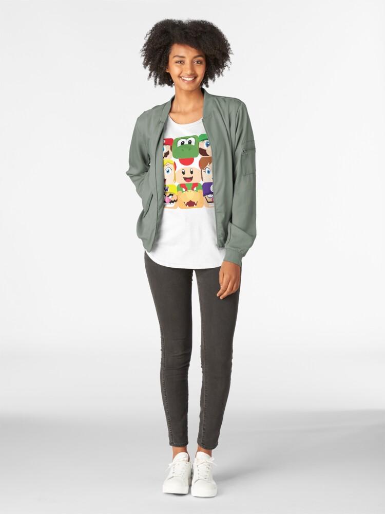 Alternative Ansicht von Klempnerblöcke Premium Rundhals-Shirt
