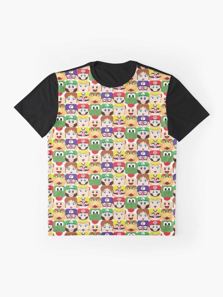 Alternative Ansicht von Klempnerblöcke Grafik T-Shirt