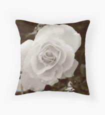 Morning Flowers  Throw Pillow
