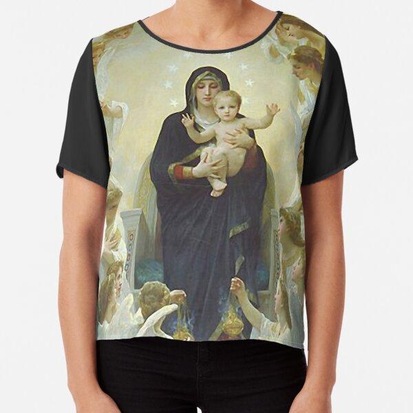 Nuestra Señora Virgen María y Ángeles Blusa