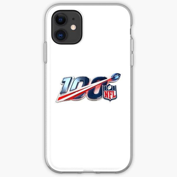 NFL 100 - 100th season iPhone Soft Case