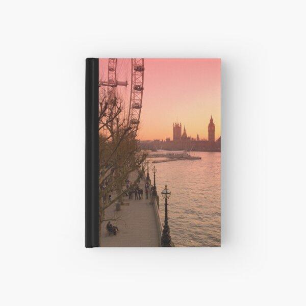 UK, England, London, Big Ben and London Eye (Alan Copson ©) Hardcover Journal