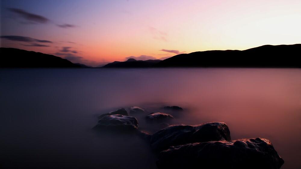 Loch Ness Sunset (Long Exposure) by Ben Luck