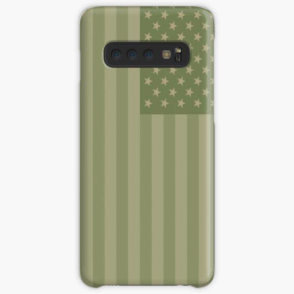 Camo Sternenbanner - USA Flagge militärische Camouflage Farben Samsung Galaxy Leichte Hülle