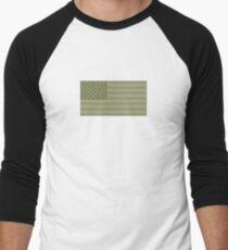 Camo Sternenbanner - USA Flagge militärische Camouflage Farben Baseballshirt für Männer
