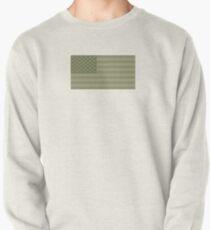 Camo Sternenbanner - USA Flagge militärische Camouflage Farben Sweatshirt
