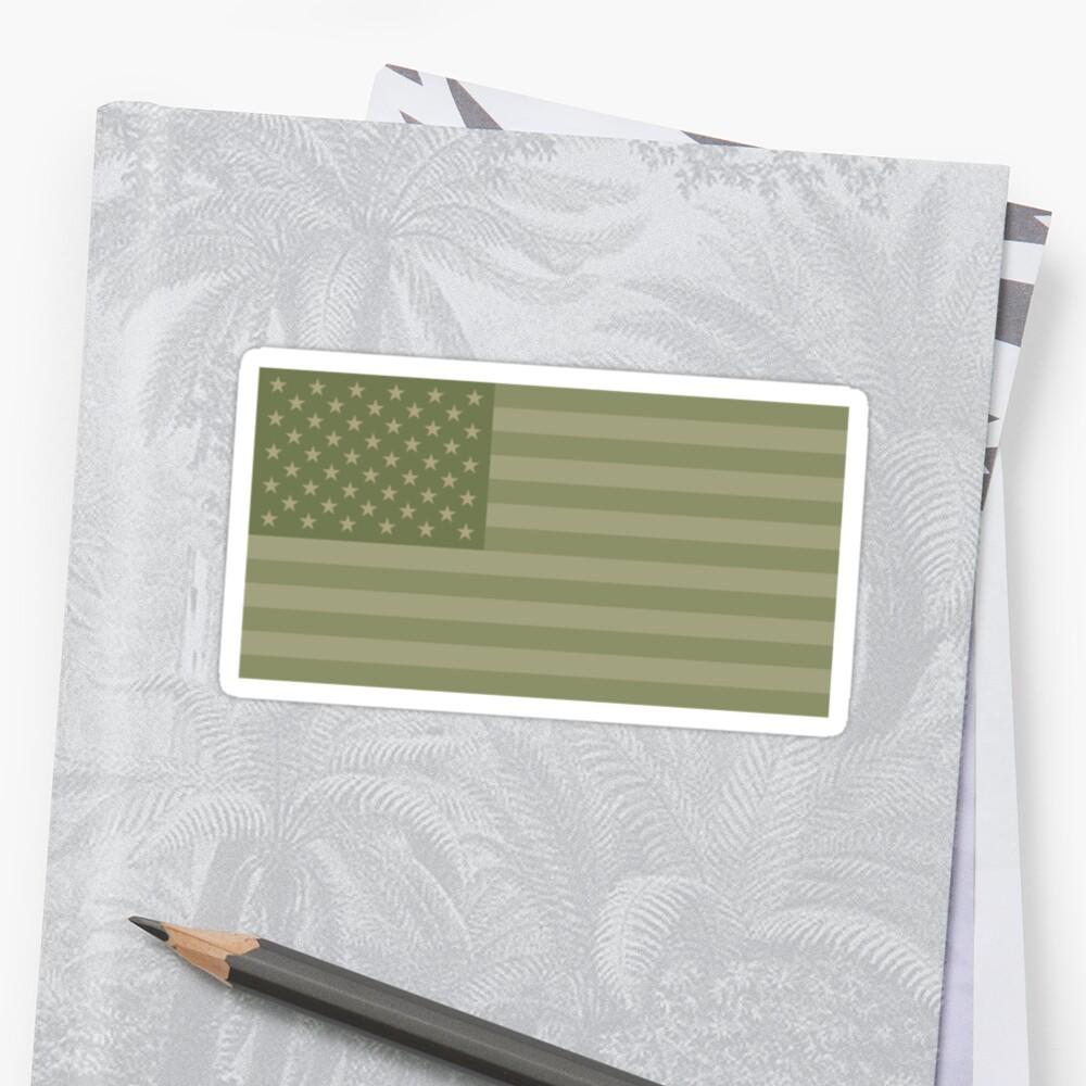 Camo Sternenbanner - USA Flagge militärische Camouflage Farben von schildwaechter