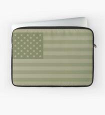 Camo Sternenbanner - USA Flagge militärische Camouflage Farben Laptoptasche